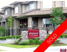 Cloverdale BC Townhouse for sale:  3 bedroom 1,395 sq.ft. (Listed 2009-06-07)