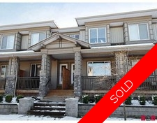 Cloverdale BC Townhouse for sale:  3 bedroom 1,415 sq.ft. (Listed 2009-04-08)